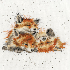 Afternoon Nap Cross Stitch By Bothy Threads