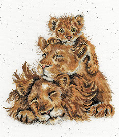 Family Pride Cross Stitch By Bothy Threads
