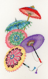 Parasols Cross Stitch By Bothy Threads