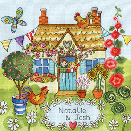 Our House Cross Stitch By Bothy Threads