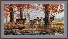 Under the Oaks Counted Cross Stitch Kit by Merejka