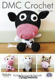 Funky Farmyard Animals Crochet Pattern