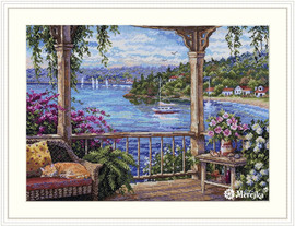 Tranquility Counted Cross Stitch Kit by Merejka
