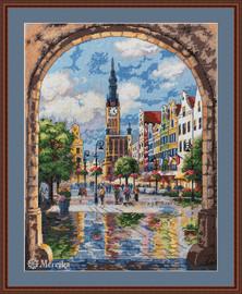 Gdansk Counted Cross Stitch Kit by Merejka