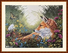 Day Dreaming Counted Cross Stitch Kit by Merejka