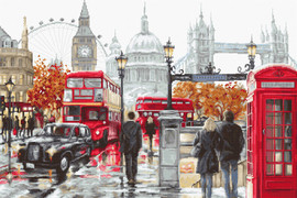 London Counted Cross Stitch Kit by Luca-S