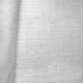 Smokey Pearl - Zweigart 28 count Cashel Linen Smokey Pearl by the Metre