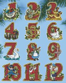 Twelve Days Christmas Tree Ornaments Kit by Design Works