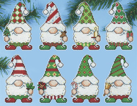 Gnomes Christmas Tree Ornaments Kit by Design Works