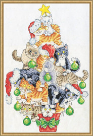 Christmas Cat Tree by Design Works