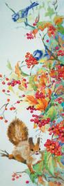 Autumn Plenty Freestyle Embroidery Kit by Panna