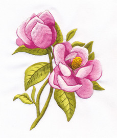Magnolia Freestyle Embroidery Kit by Panna