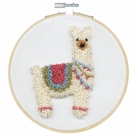 Punch Needle Kit: Llama By Dimensions