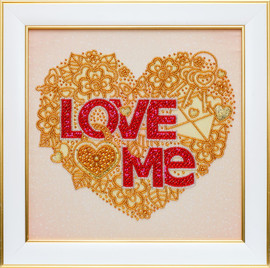 Love Me Beaded Embroidery Kit By VDV
