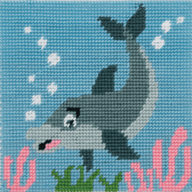 1st Kit: Dolphin Waves Tapestry Kit by Anchor