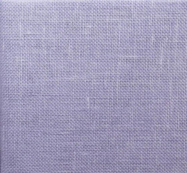 Pastel Lilac - Zweigart 28 count Cashel Linen Pastel Lilac by the Metre
