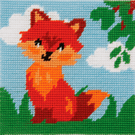1st Kit: Friendly Fox Tapestry Kit By Anchor