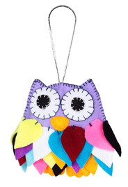 Felt Owl Felt Kit By VDV