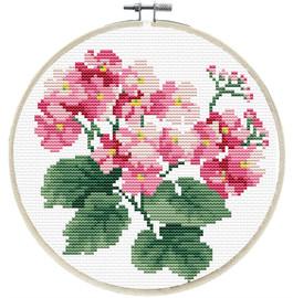 Primavera Printed Cross Stitch Kit by Needleart World