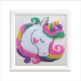 Unicorn Dream Punch Needle Kit by Needleart World