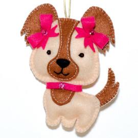 Felt Puppy Felt Kit by VDV