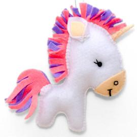 Felt Unicorn Felt Kit by VDV