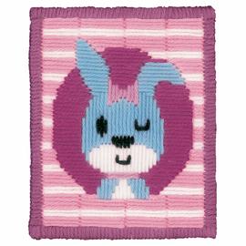 Winking Rabbit Long Stitch Kit By Vervaco