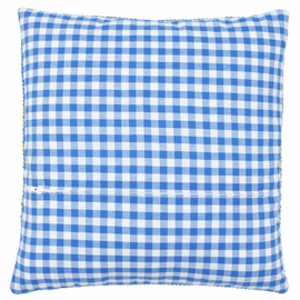 Cushion Back with Zipper: Blue: 45 x 45cm By Vervaco