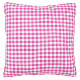 Cushion Back with Zipper: Pink: 30 x 30cm By Vervaco
