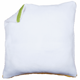Cushion Back: without Zipper: White 45 X 45 cm By Vervaco