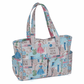 Make Do and Mend Craft Bag by Hobby Gift