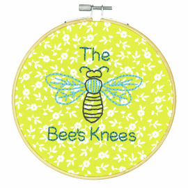 Crewel: The Bees Knees Embroidery Kit with Hoop By Dimensions