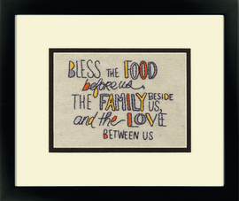 'Blessed' Embroidery Kit by Dimensions