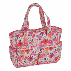 Matt PVC Floral Garden craft bag by Hobby Gift