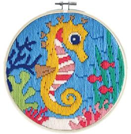 Sea Princess Long Stitch Kit by Needleart World