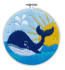 Whale Song Long Stitch Kit Needleart World