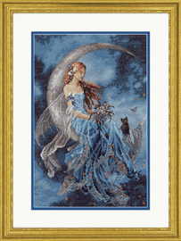 Wind Moon Fairy Counted Cross Stitch Kit by Dimensions