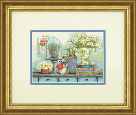 Garden Collectibles Counted Cross Stitch Kit by Dimensions