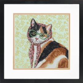 Mama Cat Counted Cross Stitch Kit by Dimensions