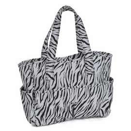 Matte PVC Zebra Craft Bag by Hobby Gift