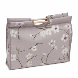 Blossom Craft Bag with Wooden Handles by Hobby Gift