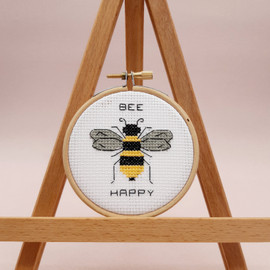 Bee Happy Cross Stitch kit by Sew Sophie