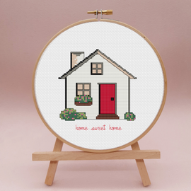Home Sweet Home Cross Stitch Kit By Sew Sophie