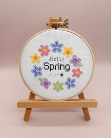 Hello Spring Cross Stitch Kit By Sew Sophie