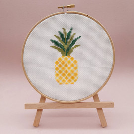 Pineapple Cross Stitch Kit By Sew Sophie