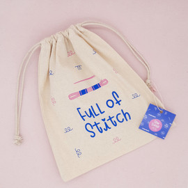 Full of Stitch  Project Bag By Sew Sophie