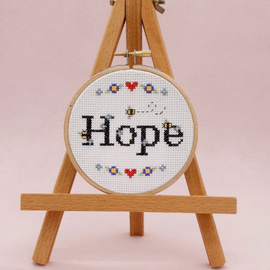 Hope Cross Stitch Kit By Sew Sophie