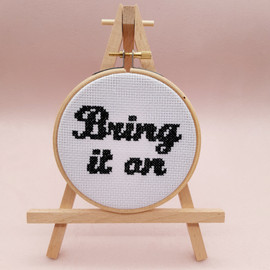Bring It On Cross Stitch Kit By Sew Sophie