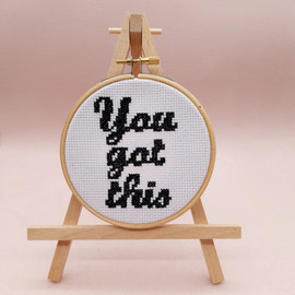 You've Got This Cross Stitch Kit By Sew Sophie