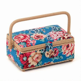 Small Kashmir Rose Sewing Box by Hobby Gift